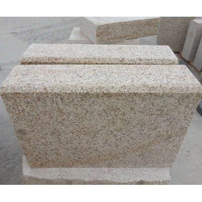 Chinese Grey Curved Granite Kerbstone