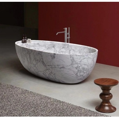 Natural Stone Soaking Bath Tub