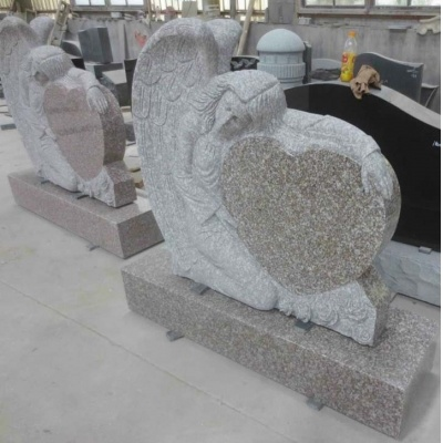 Angel Heart Gravestone
