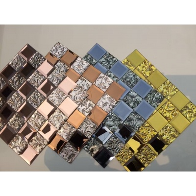Crystal Mosaic Glass Tile
