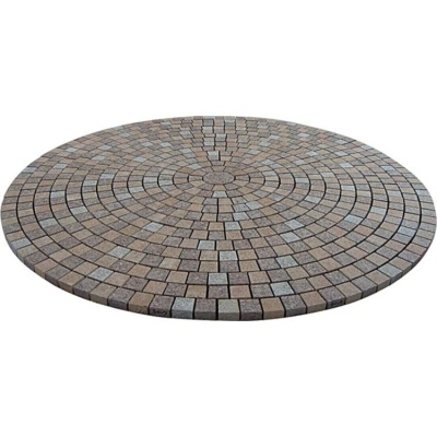 Round shape granite paving stone