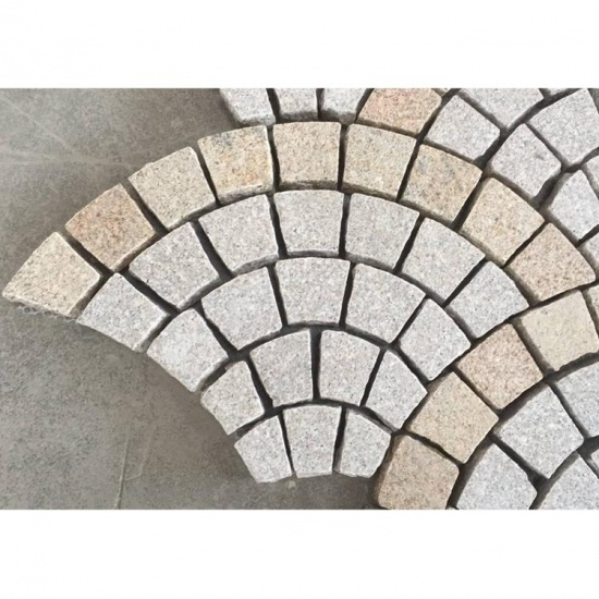 Fan Design Paving Stone