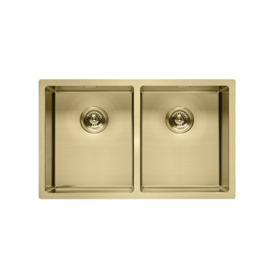 Double bowl Light Gold kitchen sink