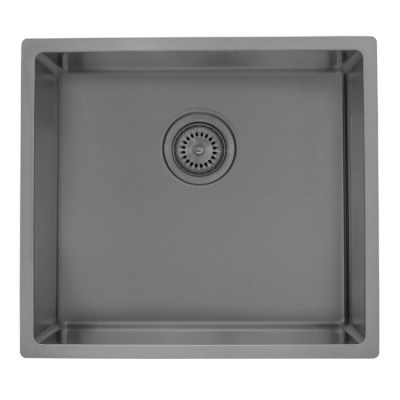 Gunmetal single bowl kitchen sink